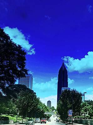 Photograph - Bank Of America Plaza Atlanta Ga by Lizi Beard-Ward