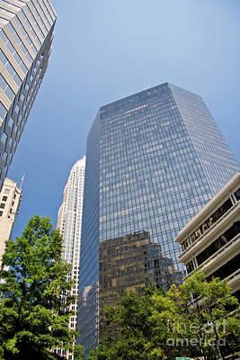Photograph - Bank Of America Plaza by Jill Lang
