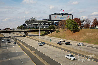 Photograph - Bank Of America Stadium by Kevin McCarthy
