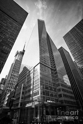 Bank Of America Tower New York City Usa Art Print