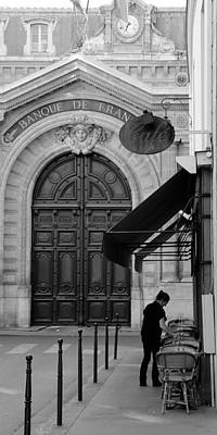 Photograph - Bank Of France 1b by Andrew Fare