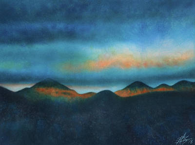 Bank Of Passing Clouds Art Print by Robin Street-Morris