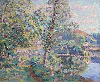 Bank Of The River Art Print