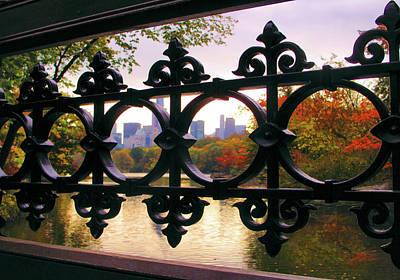 Photograph - Bank Rock Bridge View by Jessica Jenney