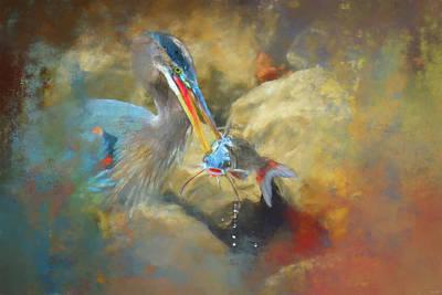 Painting - Banking The Catfish by Jai Johnson