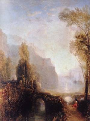 Banks Of The Loire Art Print