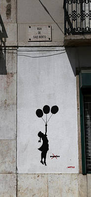 Keith Richards - Banksy 3 by Andrew Fare