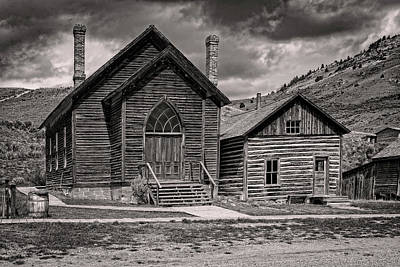 Photograph - Bannack Church by Scott Read