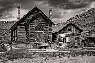 Photograph - Bannack Church by Scott Read