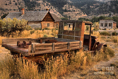 Photograph - Bannack Extended Parking by Adam Jewell