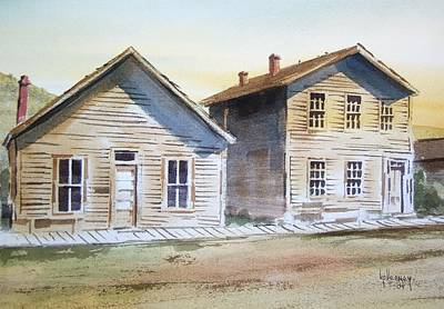 Bannack Ghost Town Montana Art Print by Kevin Heaney