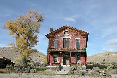 Photograph -  Bannack Historic District 22 Miles From Dillon Off Montana Highway 278 Dillon by Nikolay Makarov