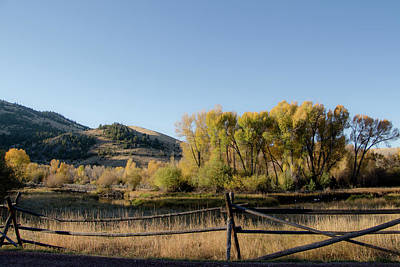 Photograph - Bannack In The Fall by Teresa Wilson