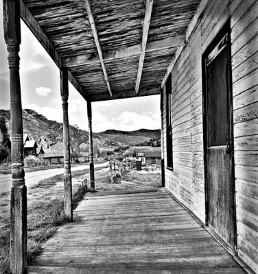 Digital Art - Bannack Mt. 8 by Susan Kinney