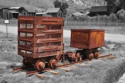 Photograph - Bannack Ore Tender by Richard J Cassato