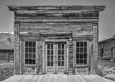 Photograph - Bannack Store by Richard J Cassato