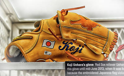 Photograph - Banned Baseball Glove by Mike Martin