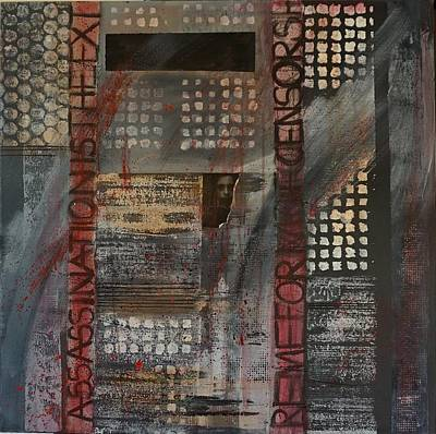 Mixed Media - Banned by Jillian Goldberg