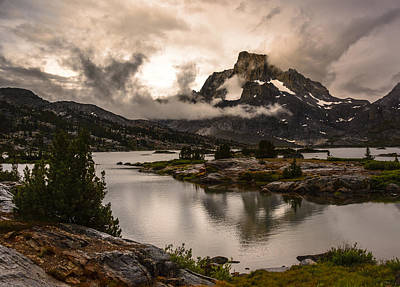 Photograph - Banner Peak In A Clearing Storm by Joe Doherty