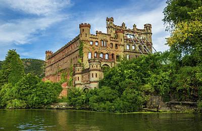 Photograph - Bannerman Castle on the Hudson River by John Morzen