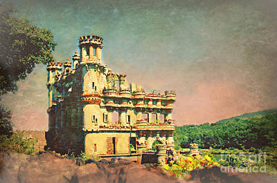 Photograph - Bannerman Castle On The Hudson River New York by Beth Ferris Sale