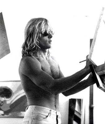 Photograph - Banning C. 1972 by Banning Lary