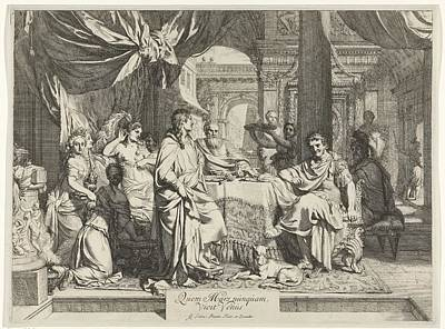Painting - Banquet Of Cleopatra by Celestial Images