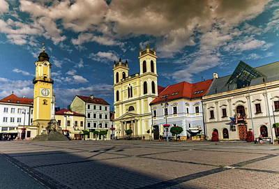 Photograph - Banska Bystrica's Main Square, Slovakia by Elenarts - Elena Duvernay photo