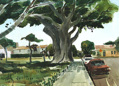 Painting - Banyan Tree by Thomas Tribby