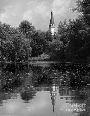 Baptizing Photograph - Baptismal by Jan Piller