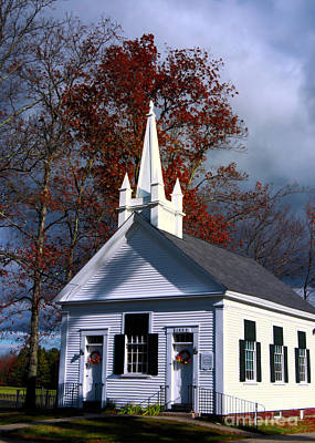 Photograph - Baptist Church by Mim White