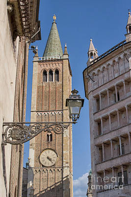 Photograph - Baptistery And Cathedral In Parma by Patricia Hofmeester