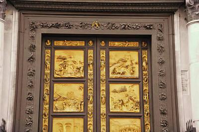 Photograph - Baptistery Doors by JAMART Photography
