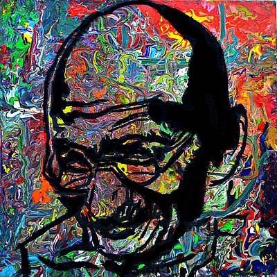 Painting - Bapu by Nicole Gavin