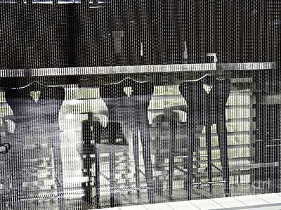 Photograph - Bar And Stools by Sarah Loft