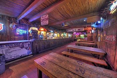 Photograph - Bar At The Dixie Chicken by David Morefield