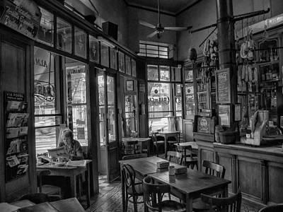 Bar De Cao Buenos Aires Argentina Art Print by Hans Wolfgang Muller Leg