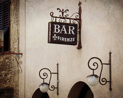 Photograph - Bar Firenze by Valerie Reeves
