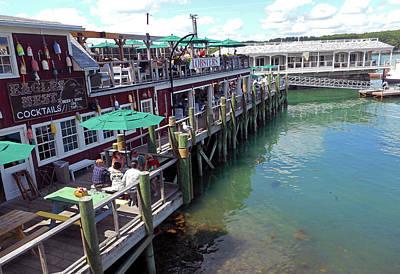 Photograph - Bar Harbor 4 by Ron Kandt