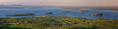 Photograph - Bar Harbor And Frenchman Bay Panorama by Rick Berk