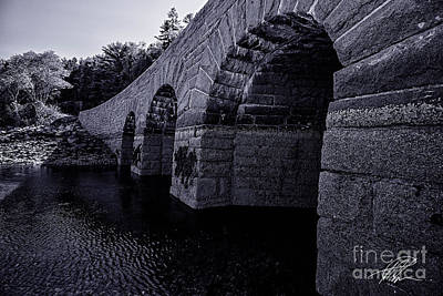 Photograph - Bar Harbor Bridge by Tony Cooper