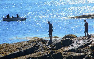 Photograph - Bar Harbor Fishing 1 by Randall Weidner