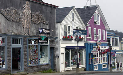 Photograph - Bar Harbor by Helen Haw