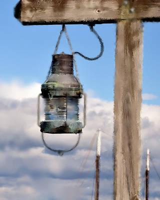 Lantern Digital Art - Bar Harbor Lantern by Betty LaRue