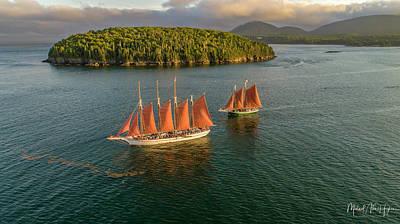 Sailing Thru Life The Downeast Way Art Print
