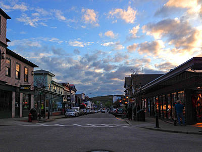 Photograph - Bar Harbor Maine At Dusk by Mary Bedy