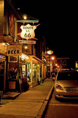 Photograph - Bar Harbor Night Life by Paul Mangold