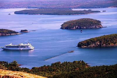 Photograph - Bar Harbor by Sherman Perry