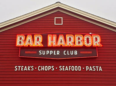 Photograph - Bar Harbor Study 2 by Robert Meyers-Lussier