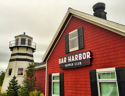 Photograph - Bar Harbor Study 4 by Robert Meyers-Lussier